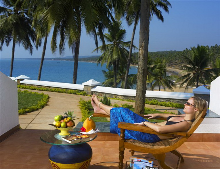Leela Kovalam - sea view room